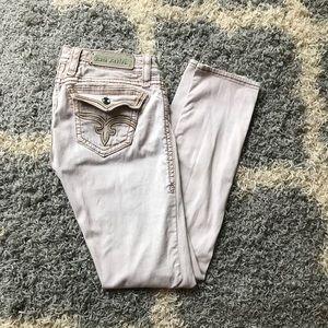 Blush Rock Revival jeans